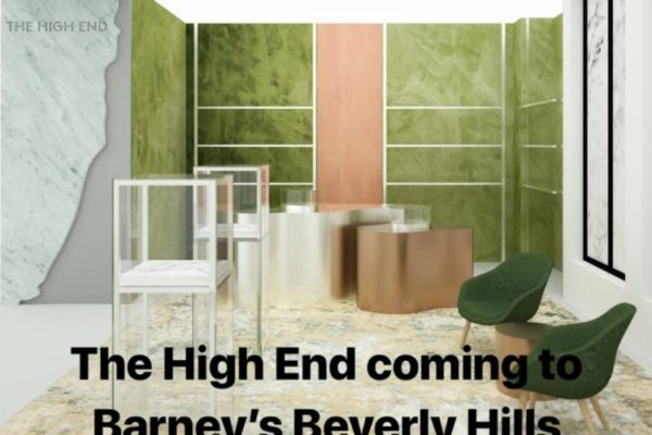Cannabis goes canna-luxe this March at Barney's Beverly Hills.