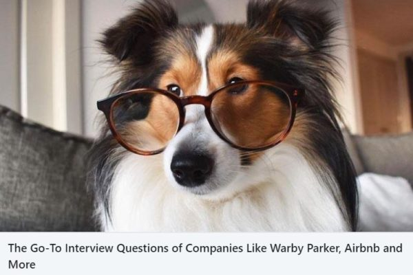 What is your favorite interview question?